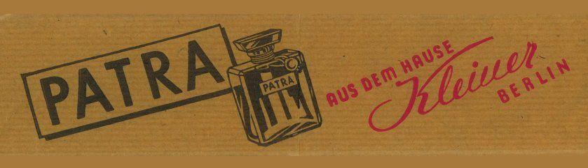 """Unter der Lupe - """"PATRA – Ihr Parfüm in aller Welt"""""""